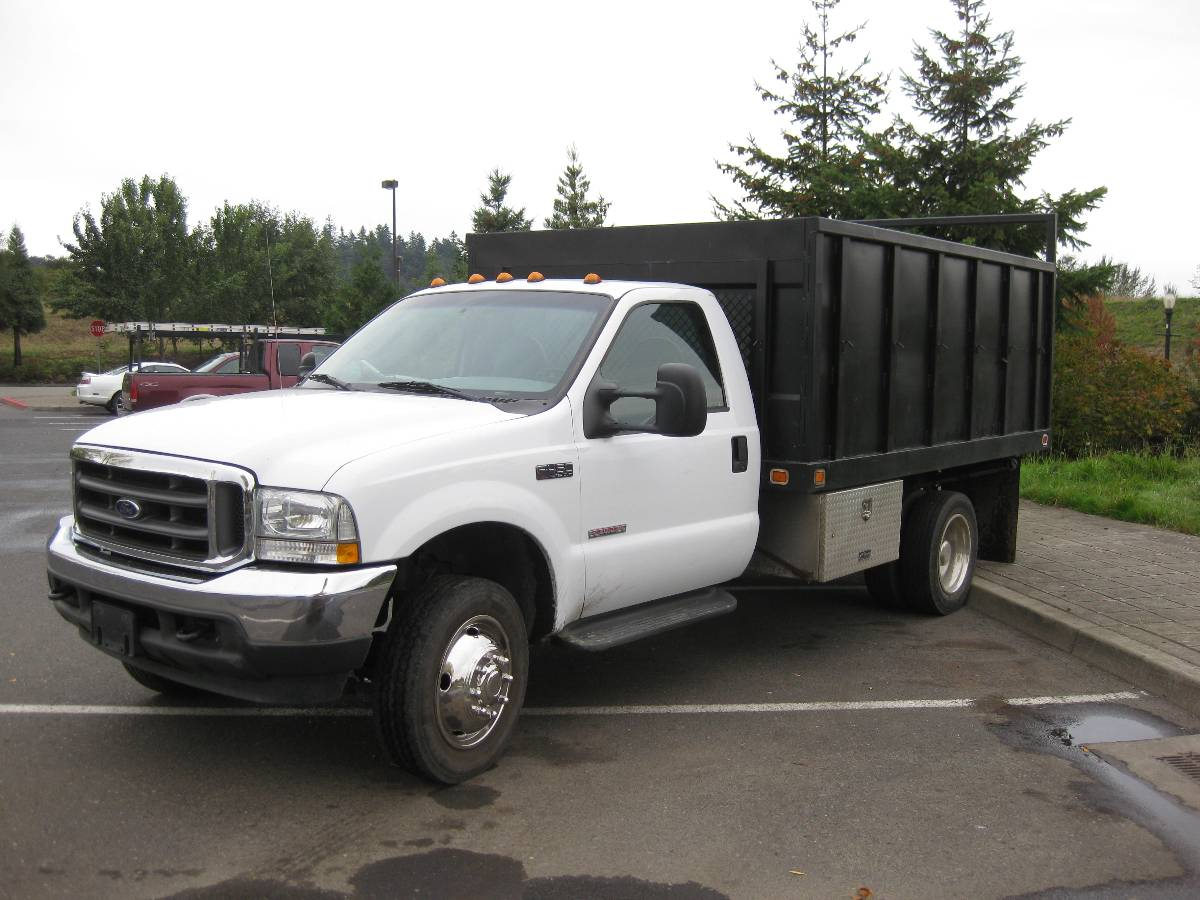 Ford F350 Dump Truck For Sale